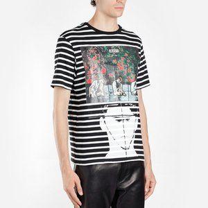 JW Anderson G+G Police Heavy Print Stripe T Shirt